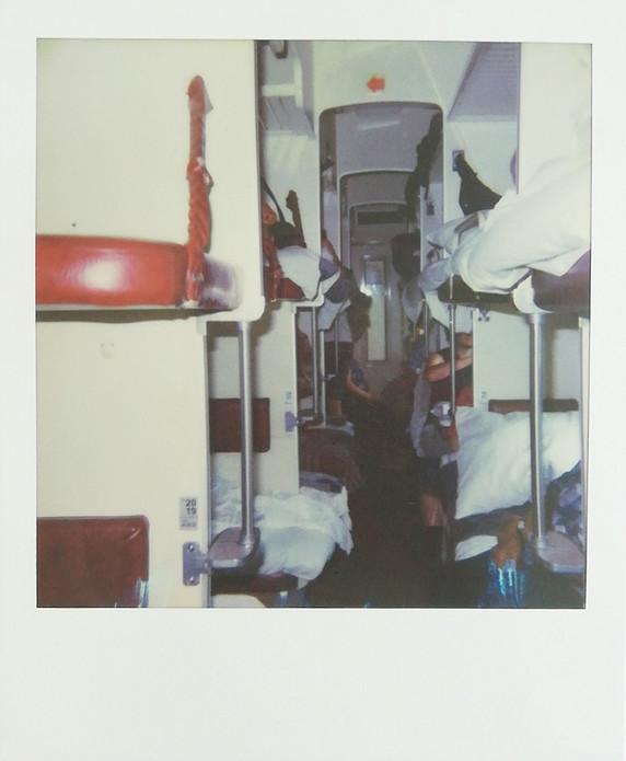 Transiberian train 3rd class 2017