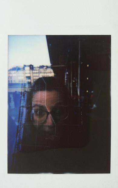 Self portrait on Pompidu Paris 2017