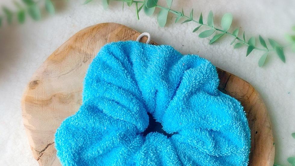 Fleur de douche turquoise