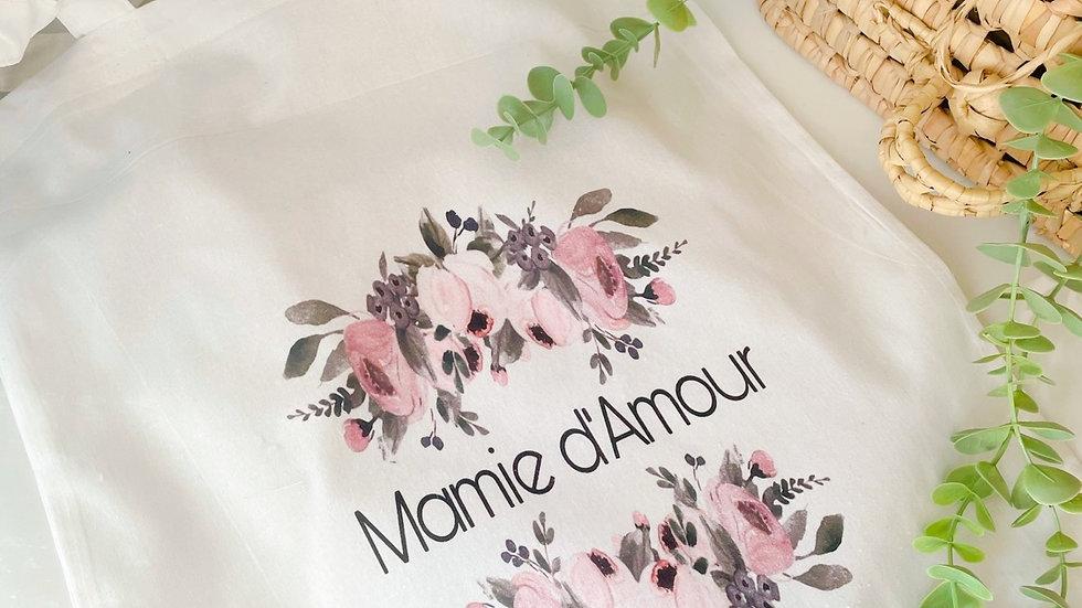 Sac en coton / tote bag Mamie d'Amour