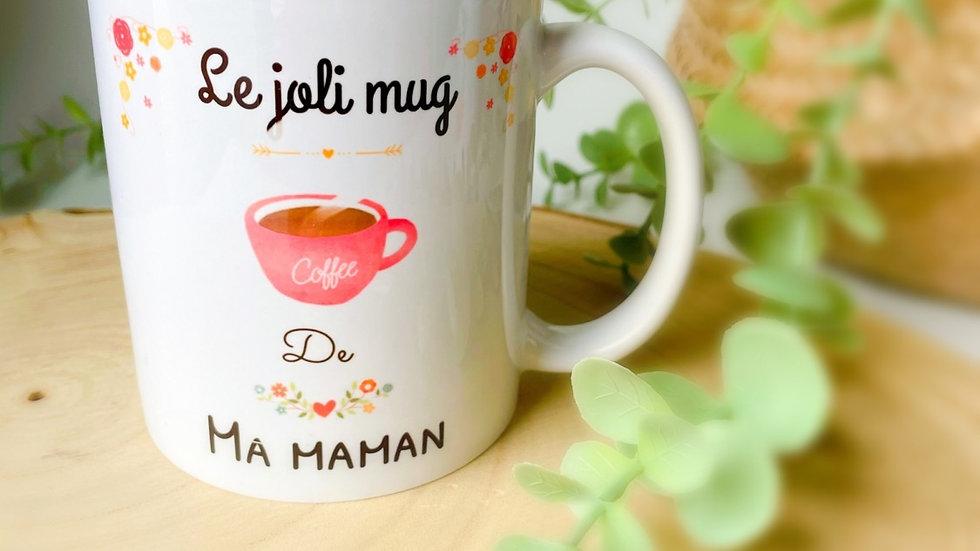Mug le joli mug de maman
