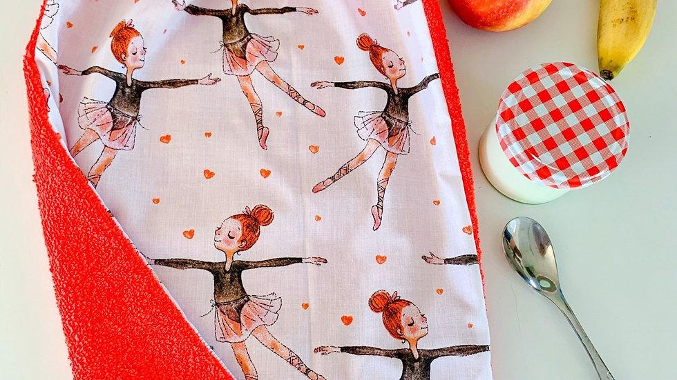 Serviette de table elastiquée danseuses