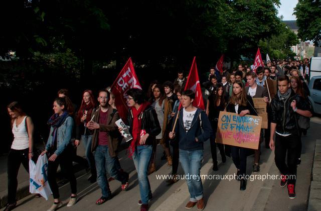 Manifestation contre le FN