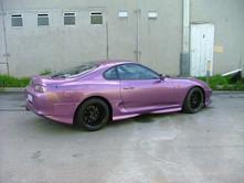 Toyota Supra - Purple
