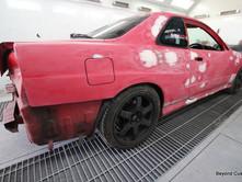Nissan R34 Skyline Blue