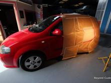 Holden Barina Repair - Red