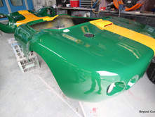 Racecar Yellow Green