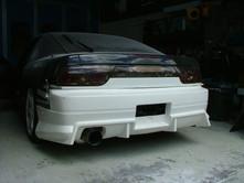 Nissan 180SX Black