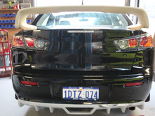 Mitsubishi Lancer Wing Diffuser