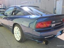 Nissan 180SX Blue Bodykit