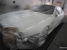 Nissan Skyline White Repair Fibreglass