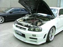 Nissan Skyline R34 GTR Bodykit