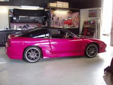 Nissan 180SX Pink