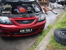 Ford Falcon Repair - Red