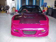 Nissan 180SX Pink Bodykit