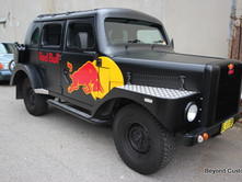 Red Bull Custom Vehicle
