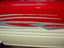 Holden Rodeo Striping