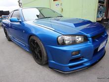 Nissan R34 Skyline - Blue