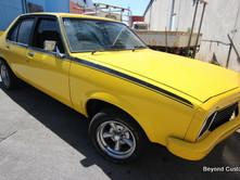 Holden Torana Yellow