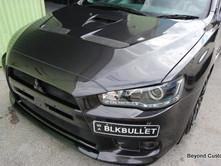 Mitsubishi Evolution Black Repair