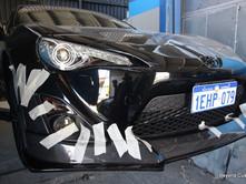 Toyota 86 Front Bumper Rear Carbon