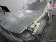 Nissan 350Z Repair - Silver