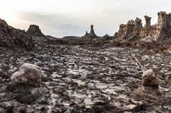 Le désert du Danakil en pays Afar,