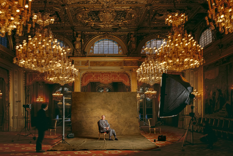 M. François Mitterrand, Président de la République.