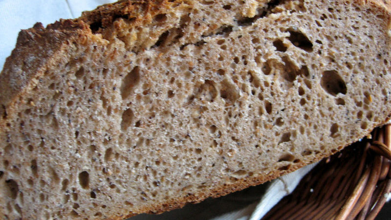 Miche au blé noir (500g)