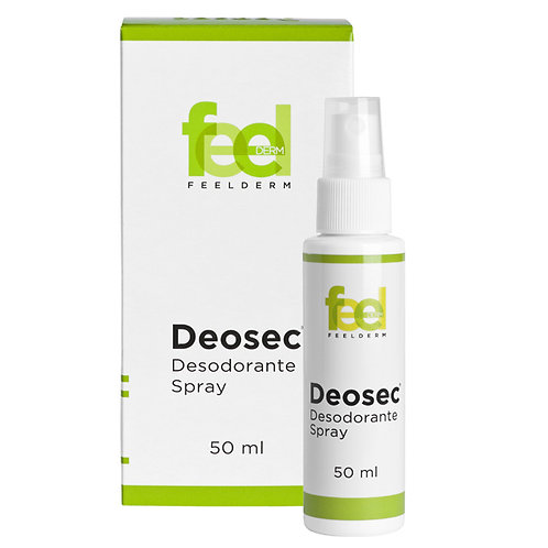 DEOSEC DESODORANTE SPRAY X 50 ML FEELDERM