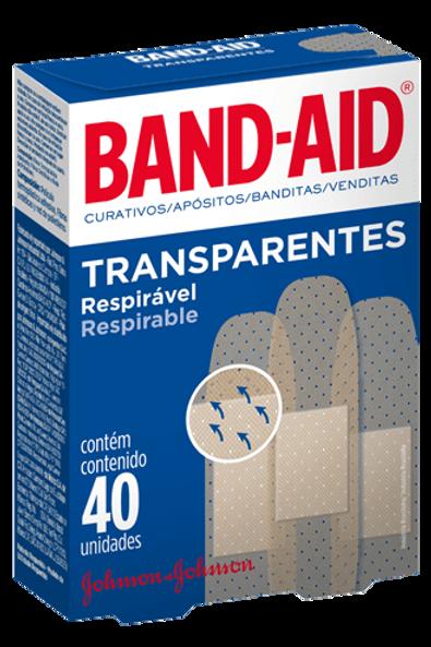 BAND-AID CURITAS TRASP. 40UD JOHNSON & JOHNSON