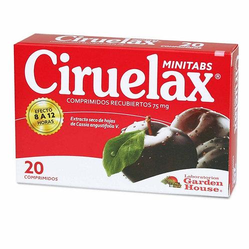 CIRUELAX MINITABS 20CM
