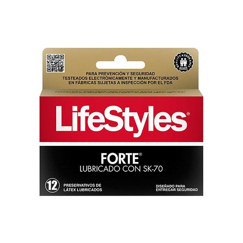 PRESERVATIVOS FORTE 12UD LIFESTYLE