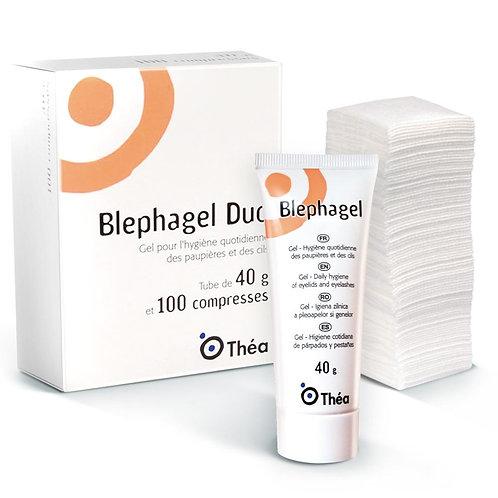 BLEPHAGEL DUO 40G/100 COMPRESAS