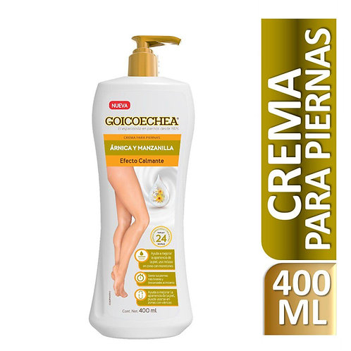 GOICOECHEA CR.PIERNAS CALMANTE ARNICA 400ML GENOMMA LAB