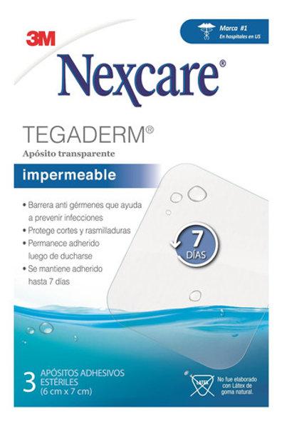 NEXCARE TEGADERM+PAD 7DÍAS 3UD