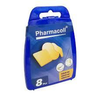 PHARMACOLL PARCHE PIE 8 UD