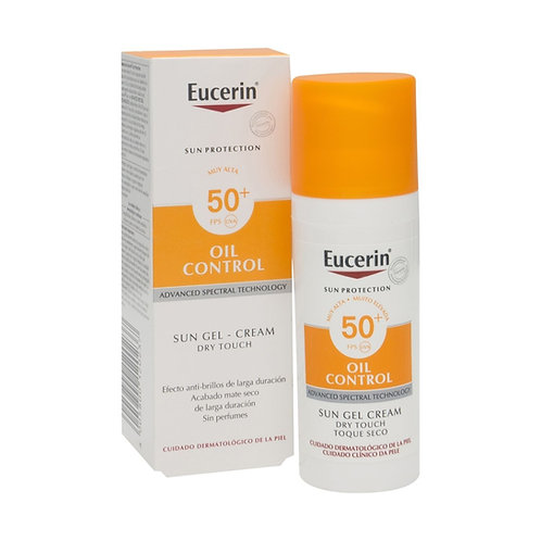 OIL CONTROL SUN GEL F50 50ML