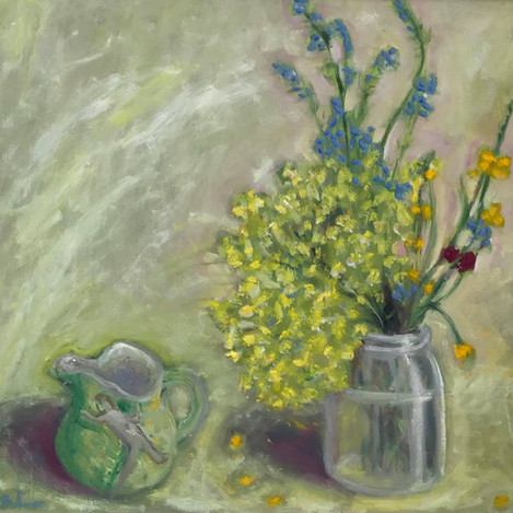 Alchamilla mollis, Yolande's jug