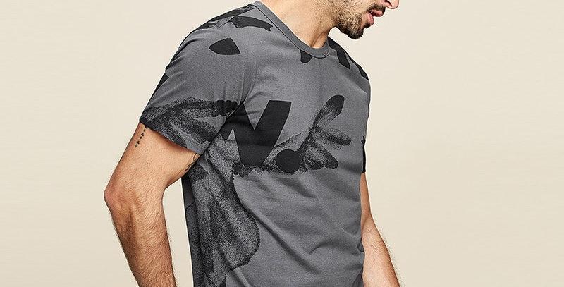 Cotton Men's T-Shirt Plus Size