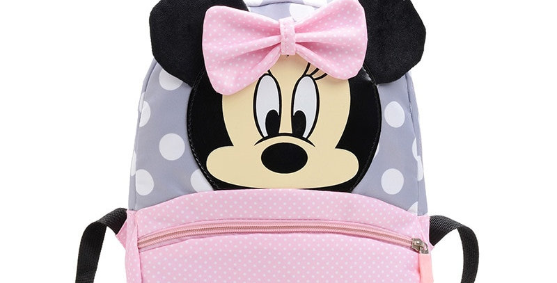 Children's Backpack Mickey Minnie Boys Girl Bags 2-7 Years