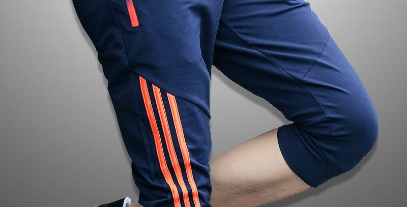 Casual Shorts Men Striped Men's Sportswear Short Sweatpants Jogger