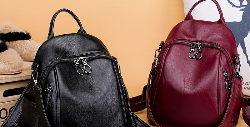 Leather Backpacks Women