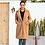 Thumbnail: Female Plush Coat Plus Size
