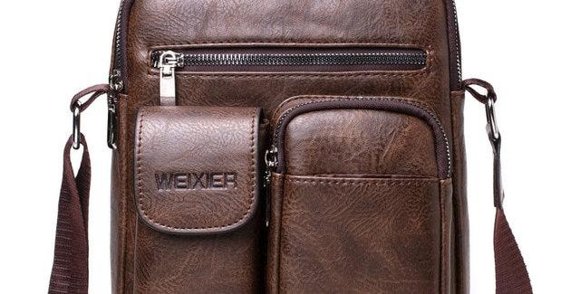 Men Shoulder Bag PU Leather