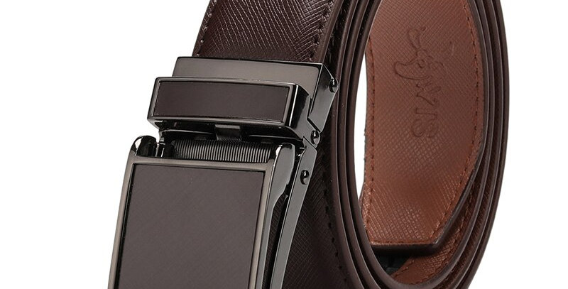 Belt  Genuine Leather Strap Automatic Buckle