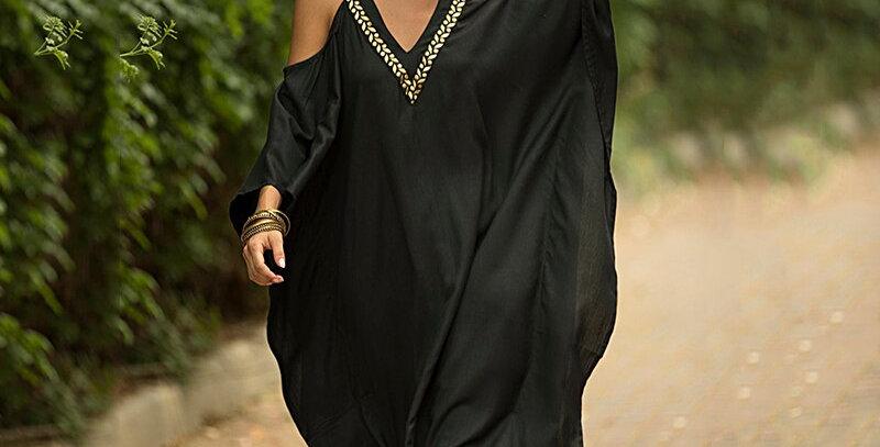 Long Dress Women Kaftan