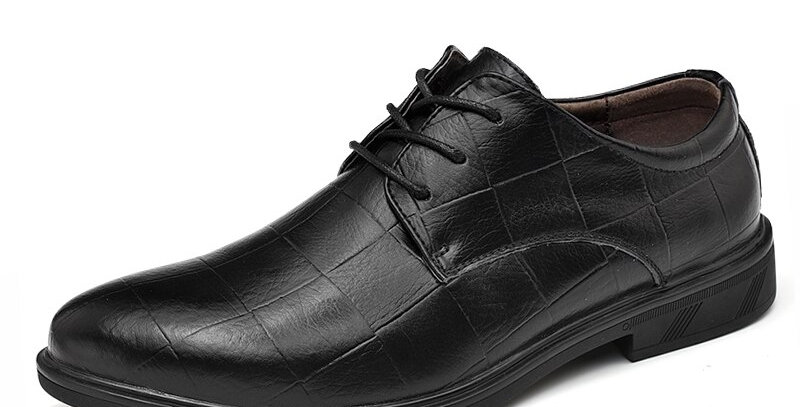 Oxford Shoes for Men Leather Large Size