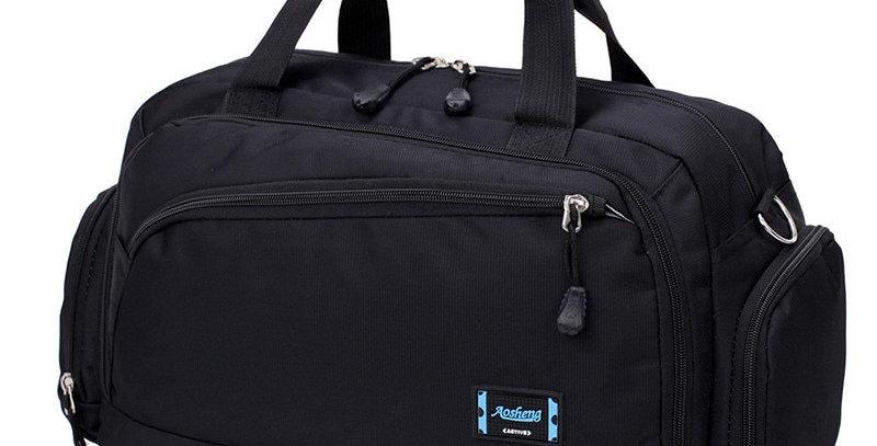Gym Bags Men Sports Fitness Pack Cylinder One Shoulder Sport Bag