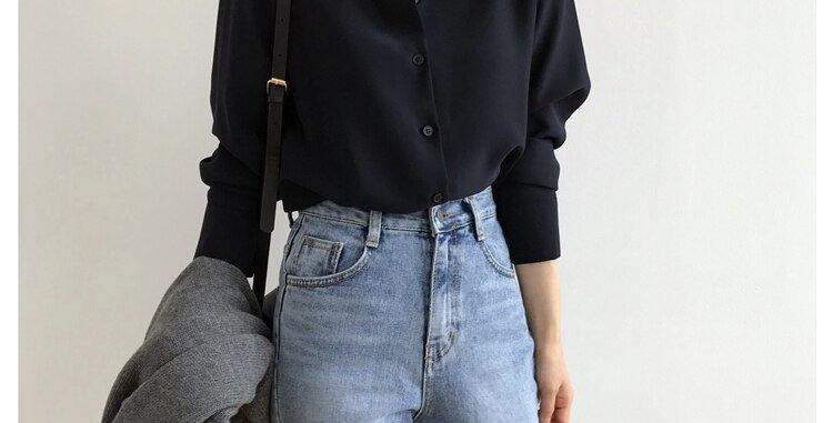 Women's Shirt Classic Chiffon Blouse